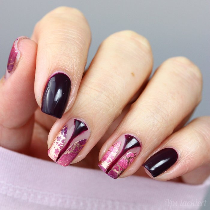 Twinnails Negative Space Rosinagold_02